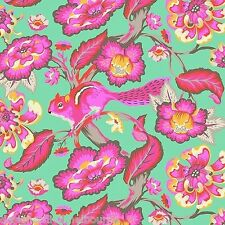 Tula Pink - Chipper - Chipmunk - Sorbet F/Q or YRD , quilting fabric