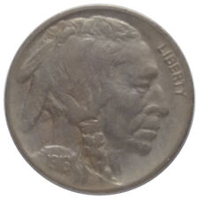 1916-S 5c Buffalo Nickel A2 - 3/4 Horn and Beautiful Elements