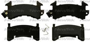 Disc Brake Pad Set-Galaxy Ceramic Disc Pads Front,Rear NewTek SCD154