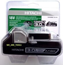 Genuine New Hitachi 339-782 BSL1830C Compact 18V  3.0 AH Li-Ion Battery 18 Volt