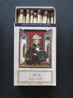Hungarian Kings - I. Bela_Matchbook w. safety match