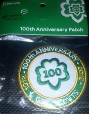 2012 Girl Scout 100th Anniversary Patch - NEW Trefoil