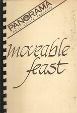 *ARLINGTON TX VINTAGE *PANORAMA REAL ESTATE COOK BOOK *MOVEABLE FEAST *TEXAS
