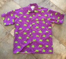 Vintage Deadstock Official 1991 New Orleans Jazz Fest Hawaiian Shirt Size M/L