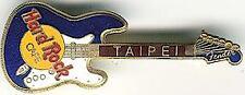 TAIPEI  HARD ROCK CAFE BLUE/WHITE FATBOY GUITAR
