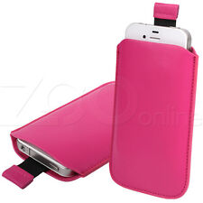PINK PU LEATHER PULL-UP POUCH COVER CASE SLEEVE FOR SAMSUNG GALAXY NEXUS i9250