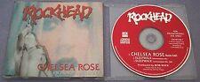 ROCKHEAD Chelsea Rose 1993 UK PROMO CD SINGLE Canada HARD ROCK