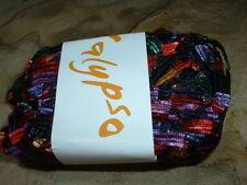 SWTC Yarn Co - CALYPSO - #5 Jubilee ( Reds & Blues) Ribbon/Novelty