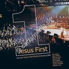 CD: JESUS FIRST Live - Worship - Lobpreis dt./engl. - Anbetung Christival *NEU*