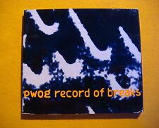 KK Records - kk 118 CD - PWOG -  Record Of Breaks - Tribal, Minimal, Ambient