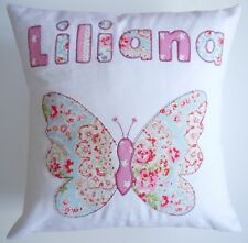 girls gift name cushion personalised pillow baby nursery decoration Cath Kidston