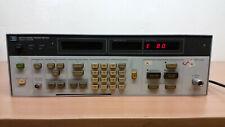 Hp 8970a Noise Figure Meter E80 E26 E18 Error For Repair