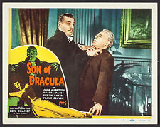 "Poster Lobby Card Son of Dracula 1948 (1943) 11""x14"" NM 9.0 Lon Chaney Jr."