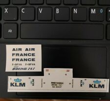 1/450 Heller Cadet Boeing 747 decals (for AIR FRANCE & KLM)