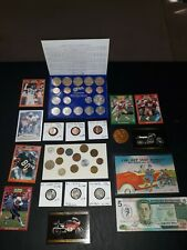 COIN LOT BIG collection MINT SET vintage card harley BU Nickels + NO JUNK DRAWER