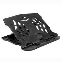 Laptop Stand Riser Holder Desktop Adjustable Vertical Bed Folding Portable Black