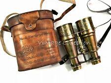 "6"" Antique Maritime Brass Binocular Monocular Vintage Marine Spyglass Scope"