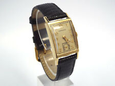 Vintage 14K Gold Hamilton Men's Watch, Manual Wind, Sub Second Hand, Circa 1948