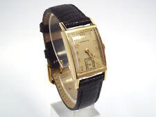 Vintage 14K Gold Hamilton Men's Watch, Manual Wind, Sub Second Hand, Circa 1948