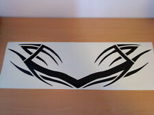 LARGE tribal car bonnet van vinyl sticker graphic decal racing rally flames vw