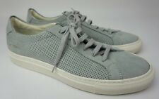 Common Projects Achilles Perforated Nubuck Grey Sneakers Shoes Size 41 EU/ 8 US