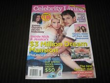 CELEBRITY LIVING MAY 2 2005 PREMIERE ISSUE - JESSICA SIMPSON NICK LACHEY - VG NL