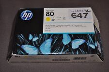 IL647 HP Designjet 80 C4848A - Yellow Ink Cartridge SEPTEMBER 2018