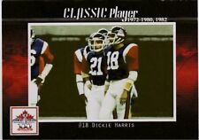 DICKIE HARRIS MONTREAL ALOUETTES (SOUTH CAROLINA) CFL GREY CUP 100TH ANNIV CARD