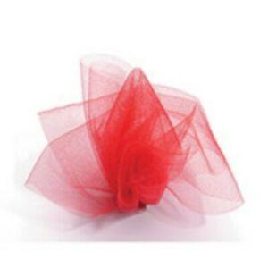 6 Inch x 25 Yards Tulle Roll Organza Mesh Ribbon Wedding Party Gift Bow Decor
