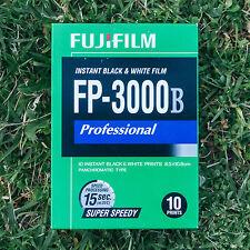 FujiFilm / Fuji FP-3000B Black + White Instant Peel Apart Pack Film Polaroid