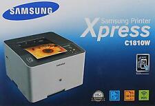 Samsung Xpress C1810W Farblaserdrucker (HU7E64)