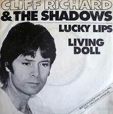 """7"""" 60s ! CLIFF RICHARD : Lucky Lips + Living Doll /VG+"""