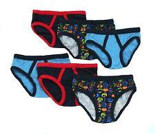 Bright Bots Boys Pants Briefs Underwear (Navy Multi 3-4y Wundies Pack of 6) New