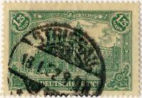 """ALLEMAGNE / GERMANY / DEUTSCHLAND / POLAND 1922 """"STRIEGAU"""" CDS /Mi.113 STRZEGOM"""