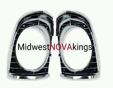 67 Nova Chevy II Headlamp Light Bezels Pair, New