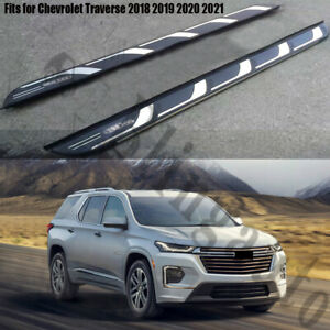 Fits for Chevrolet Traverse 2018-2021 running board side step nerf bars pedals