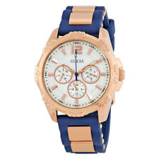 Guess Intrepid 2 White Dial Ladies Chronograph Watch W0325L8