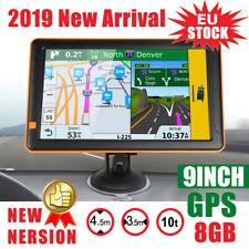 9 Zoll Navigationsgerät Für LKW PKW BUS Navi Navigation GPS POI Blitzer MP3 + FM
