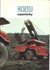 Equipment Brochure - Aveling-Barford - Centaur Dump Truck Mining (E5659)