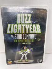 Buzz Lightyear of Star Command: The Adventure Begins (DVD, 2000) Good