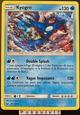 Carte Pokemon KYOGRE 46/168 HOLO Soleil et Lune 7 SL7 FR NEUF