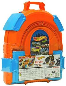 Hot Wheels Carry Case Easy Toy Carry Box Kids Handle Gift New UK