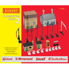 Hornby – HO Scale Accessories Pack 2 Railway Cottage Water Tower Trackside