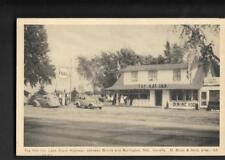 pk35995:Postcard-Esso Station,Top Hat Inn,Between Bronte & Burlington,Ontario