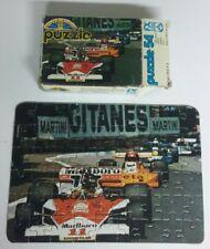 F1 Mclaren M23 1976 James Hunt Mini puzzle Schmid FX 54 pièces complet RARE