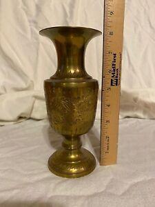Vintage Brass Urn India