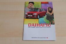 79010) Daihatsu Cuore Prospekt 01/1999