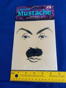 Costume Moustache Fake Mustache Eyebrows Kit Chaplin VTG NIP Self Adhesive