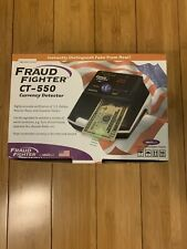 Fraud Fighter Ct- 550 Currency Dectector