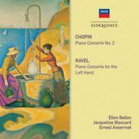 Frederic Chopin : Chopin: Piano Concerto No. 2/Ravel: Piano Concerto for the